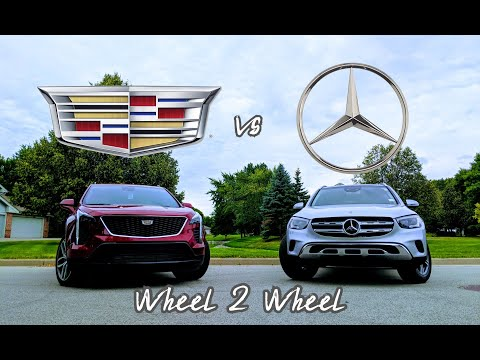 WHEEL 2 WHEEL | 2020 Mercedes GLC vs Cadillac XT4 - American Extravagance vs German Opulence