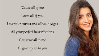 All Of Me   John Legend (Luciana Zogbi Cover)(Lyrics)
