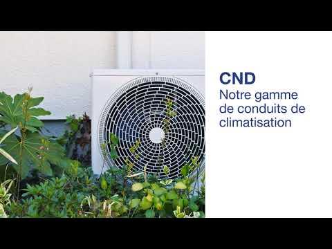 Conduit de Climatisation  CND Blanc