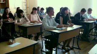 Школа 207 - Вручение Аттестатов 2012