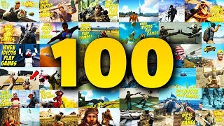 WHEN 100 IDIOTS PLAY GAMES! (#100)