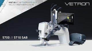 [ VISIT US ] AT THE TEXPROCESS 2019 - VETRON 5700 // 5710 SAB