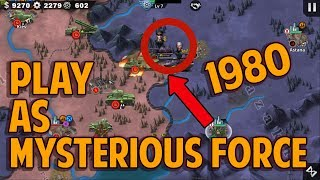 Play as THE MYSTERIOUS FORCE 1980 [WORLD CONQUEROR 4] iOS/Android Gameplay