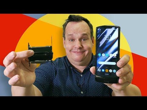 Motorola Razr's secret is the HINGE not the screen