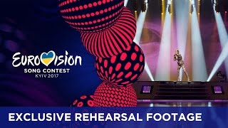 Martina Bárta - My Turn (Czech Republic) EXCLUSIVE Rehearsal footage