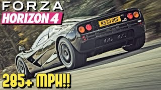 FORZA HORIZON 4 - 285+ MPH McLaren F1 Tutorial!!