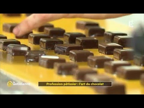 Profession pâtissier : l'art du chocolat