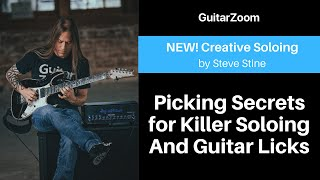 Picking Secrets for Killer Soloing And Guitar Licks | Creative Soloing Workshop