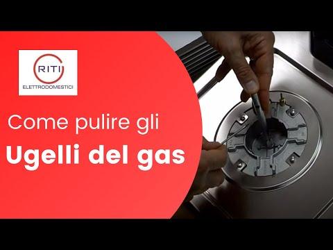 Come pulire gli ugelli del gas
