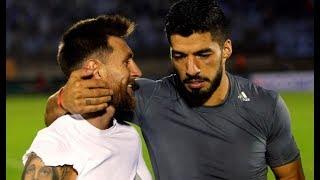 El día que Suarez sacó a Messi de su casa