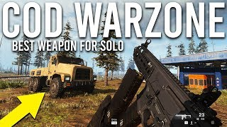 Call of Duty Warzone best weapon for Solo!