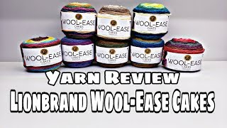 Yarn Review - Lionbrand Wool-Ease Cakes | Bag-O-Day Crochet video
