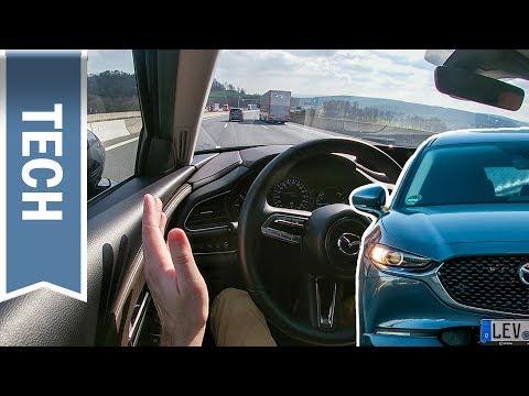 Assistenzsysteme im Mazda3/CX-30: i-Activsense Paket, MRCC, BSM, RCTA & SBS-RC im Test