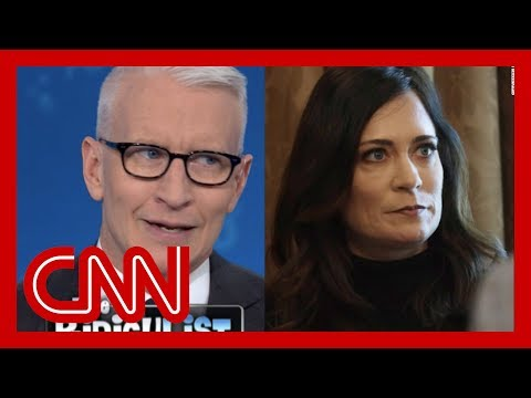 Cooper calls out WH press secretary: Are you working against Trump?