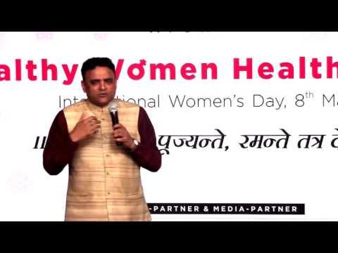 महिला दिवस पर डॉ. प्रताप चौहान द्वारा दिया गया व्याख्यान  ( 1  )