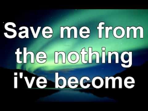 Song Lyrics - Bring Me Back To Life(Evanescence/Amy Lee