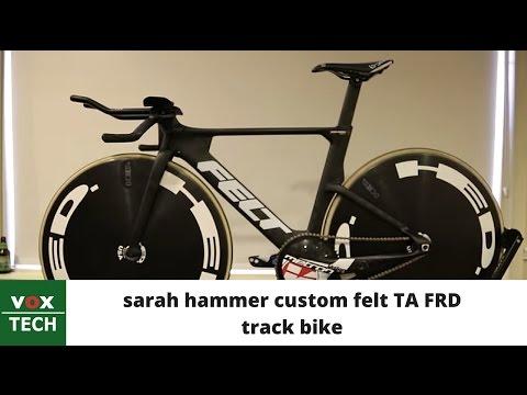 Vox Tech – Sarah Hammer's custom Felt TA FRD track bike
