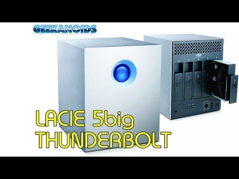 Lacie 5big Thunderbolt Series Hard Drive - Perfect Mac Pro Companion