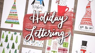 Holiday Letter with Me! | Handmade Card Ideas!