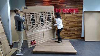 Health Mate Elevated Health Sauna Assembly