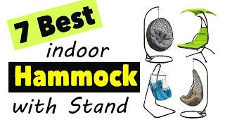 7 Best Indoor Hammock With Stand | Bet Hanging Chair With Stand Indoor And Bedroom