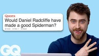 Daniel Radcliffe Goes Undercover on Reddit, YouTube, Quora and Twitter | Actually Me | GQ
