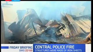 Central police officers houses burn down due to an electric fault