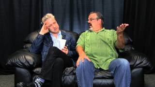 Greg's Big Black Couch with Nick Griffin