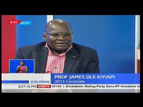 Pro. James ole Kiyiapi: People invest in elections spiritually,emotionally