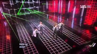 2NE1 - Can't Nobody (투애니원 - Can't Nobody) @ SBS Inkigayo 인기가요 101003