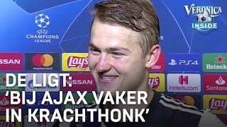 De Ligt: 'Ik zat bij Ajax vaker in het krachthonk dan hier' | CHAMPIONS LEAGUE