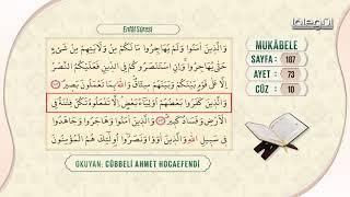Cübbeli Ahmet Hocaefendi ile Mukâbele 10. Cüz