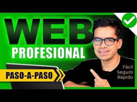 Cómo crear una página web para negocio paso a paso ▶︎ Profesional y Seguro ◀︎ Mejor Tutorial 2019  ✅
