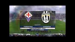 Fiorentina (4) - (2) Juventus All Goal Highlight (20-10-2013)