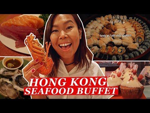$688 ALL YOU CAN EAT Luxury Buffet in Hong Kong | Hong Kong Food Tour/Travel Vlog