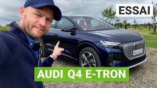Essai Audi Q4 e-tron : le dernier SUV aux anneaux est-il à la hauteur ?