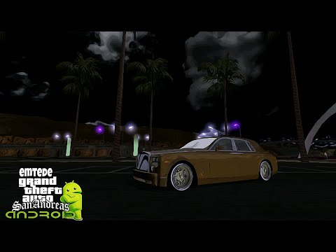 GTA SAN ANDREAS ANDROID DFF & TXD MOD ROLLS ROYCE PANTHOM
