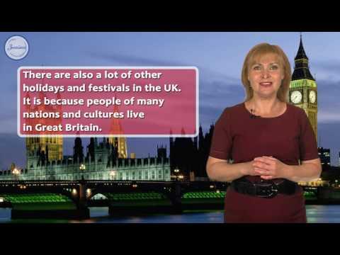 Holidays in Great Britain (summer and autumn). Праздники в Великобритании (лето и осень)