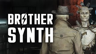 Brother Synth - Nick & DiMA's Story - Fallout 4 & Far Harbor Lore