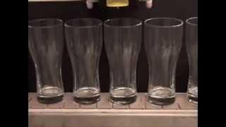 Laser Etching Inside Beer Glasses