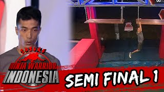 Video Rudi Heryanto Gagal Di Unstable Bridge [Sasuke Ninja Warrior Indonesia]  [3 April 2016]