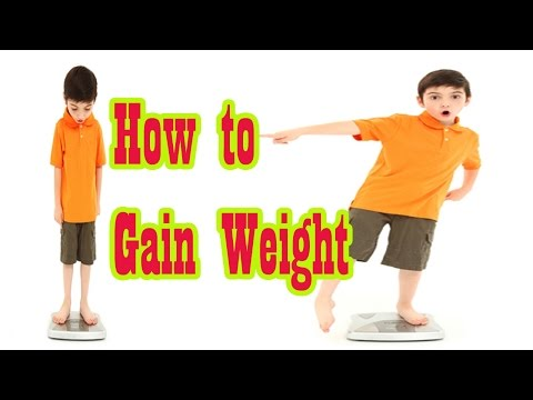 Video वज़न बढ़ाने के 6 उपाय, Quick 3 Kg WEIGHT GAIN in 7 Days, 6 Ways For Weight Gain