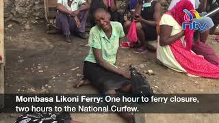 Chaos at Likoni ferry channel as GSU offices descend on commuters
