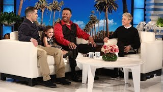 Ellen Surprises the Watson Family