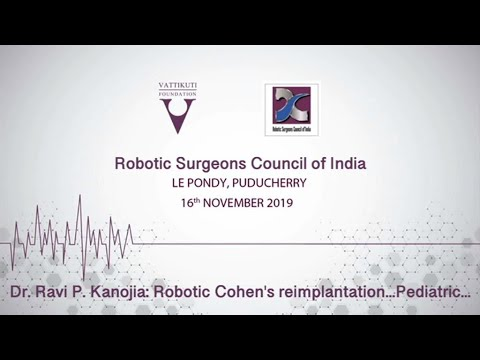 Robotic Vesicoscopic Cohen's reimplantation in pediatric Vesico-ureteric reflux & discussion
