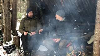 Canoeists By A Campfire Having Coffee- Joe Robinet (Ep. 2)