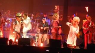 """Arcade Fire """"Ghostbusters theme/Here Comes the Night Time"""" @ Voodoo Festival Oct. 30, 2016"""
