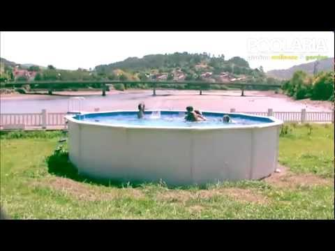 Montaje piscina desmontable redonda Gre