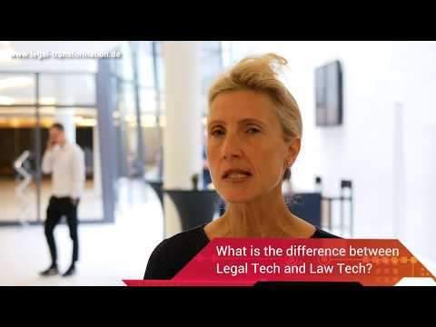The Difference between Legal and Law Tech | LTD18
