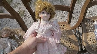 WE BOUGHT A HAUNTED DOLL AT THE FLEA MARKET / The Omar Gosh Vlogs